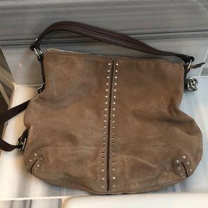 Michael kors suede purse